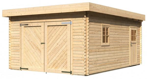 Karibu Flachdach Holzgarage Online Gunstig Kaufen