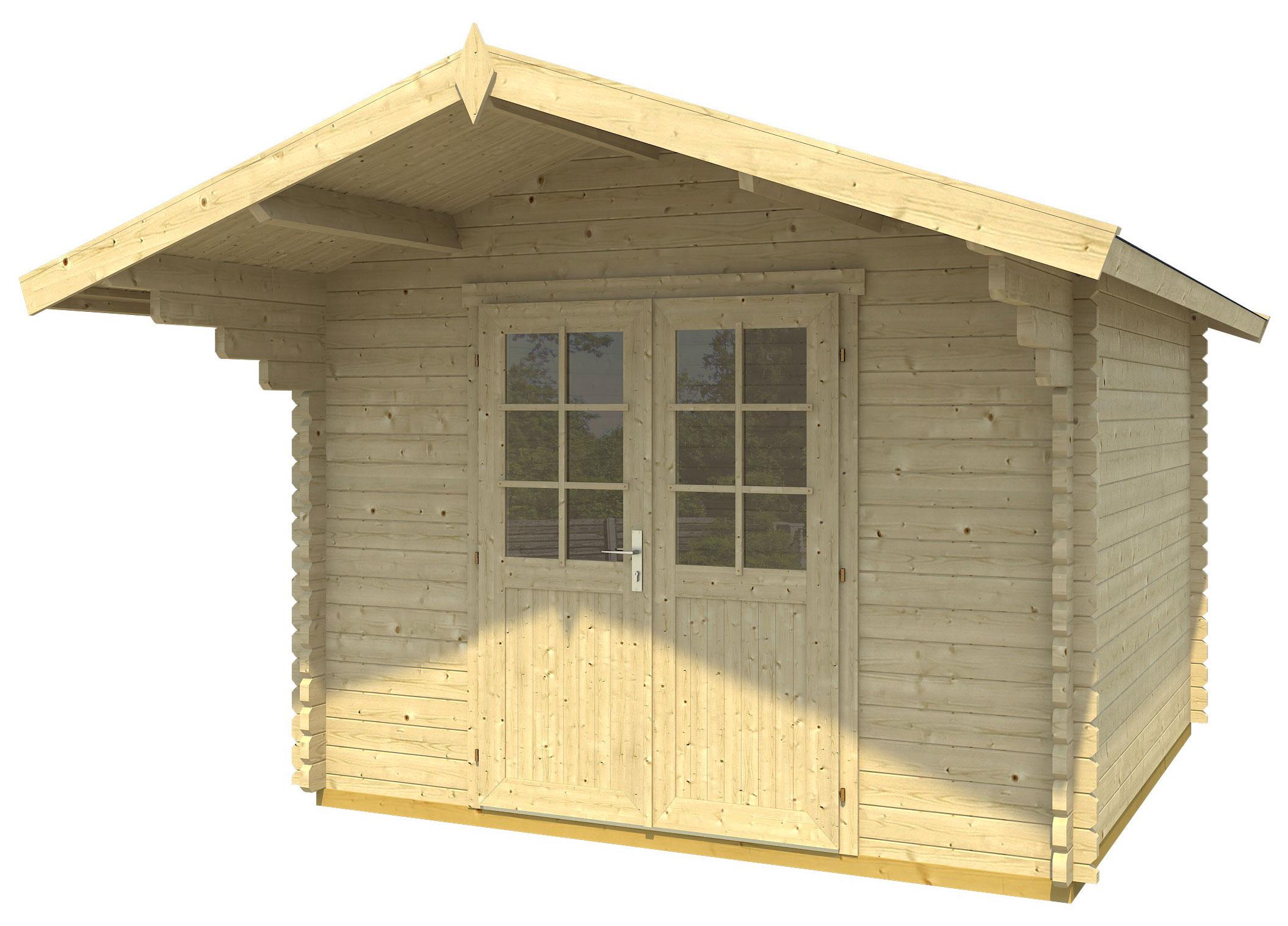 gartenhaus gotland g nstig kaufen online shop. Black Bedroom Furniture Sets. Home Design Ideas