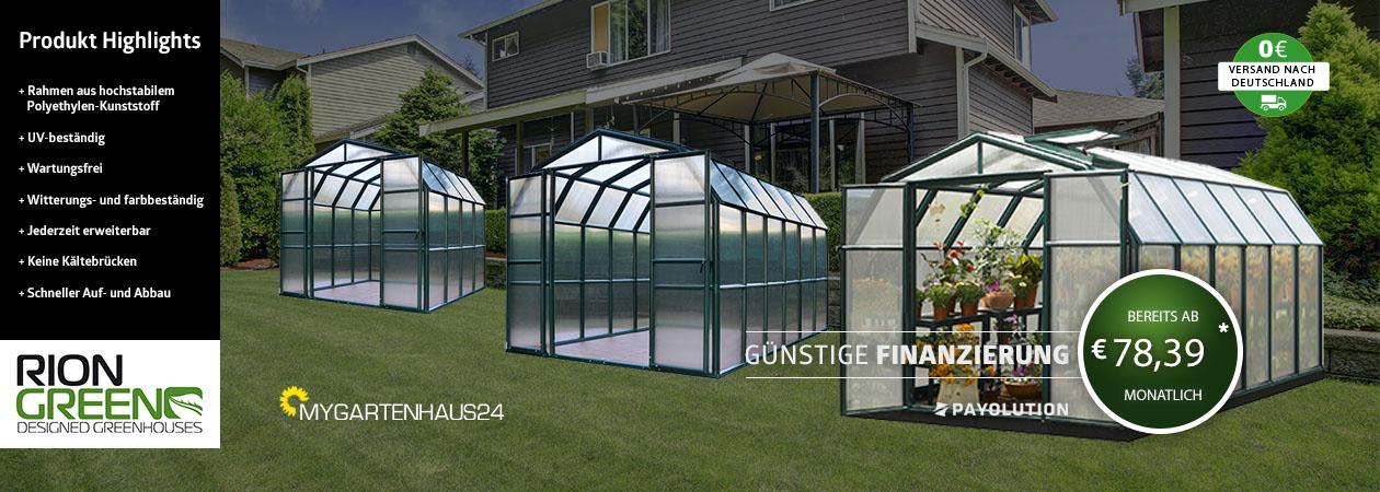 Rion Gewächshaus in Deutschland kaufen von myGartenhaus24.de