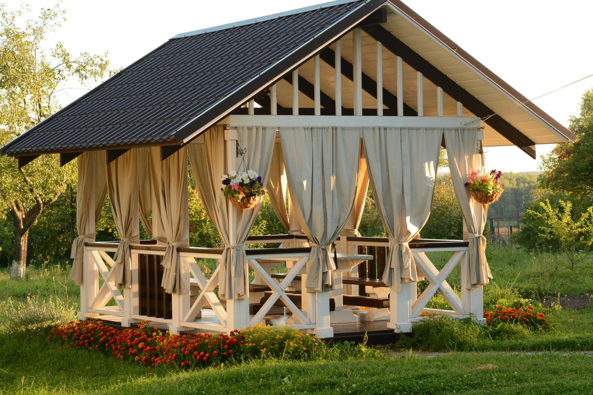 Gartenhaus Erst Aufbauen Dann Streichen