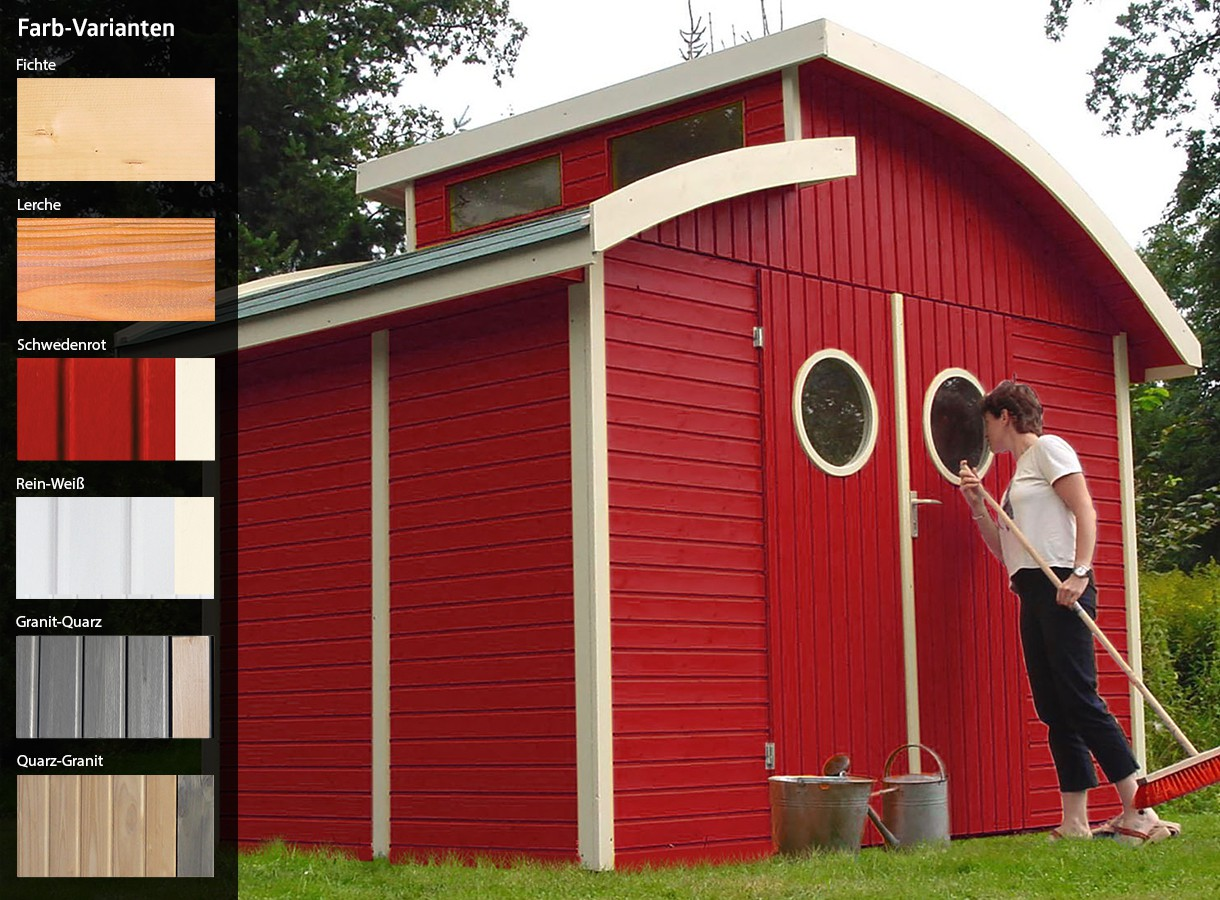 Gartenhaus schwedenrot  Gartenhaus Nautic online günstig kaufen