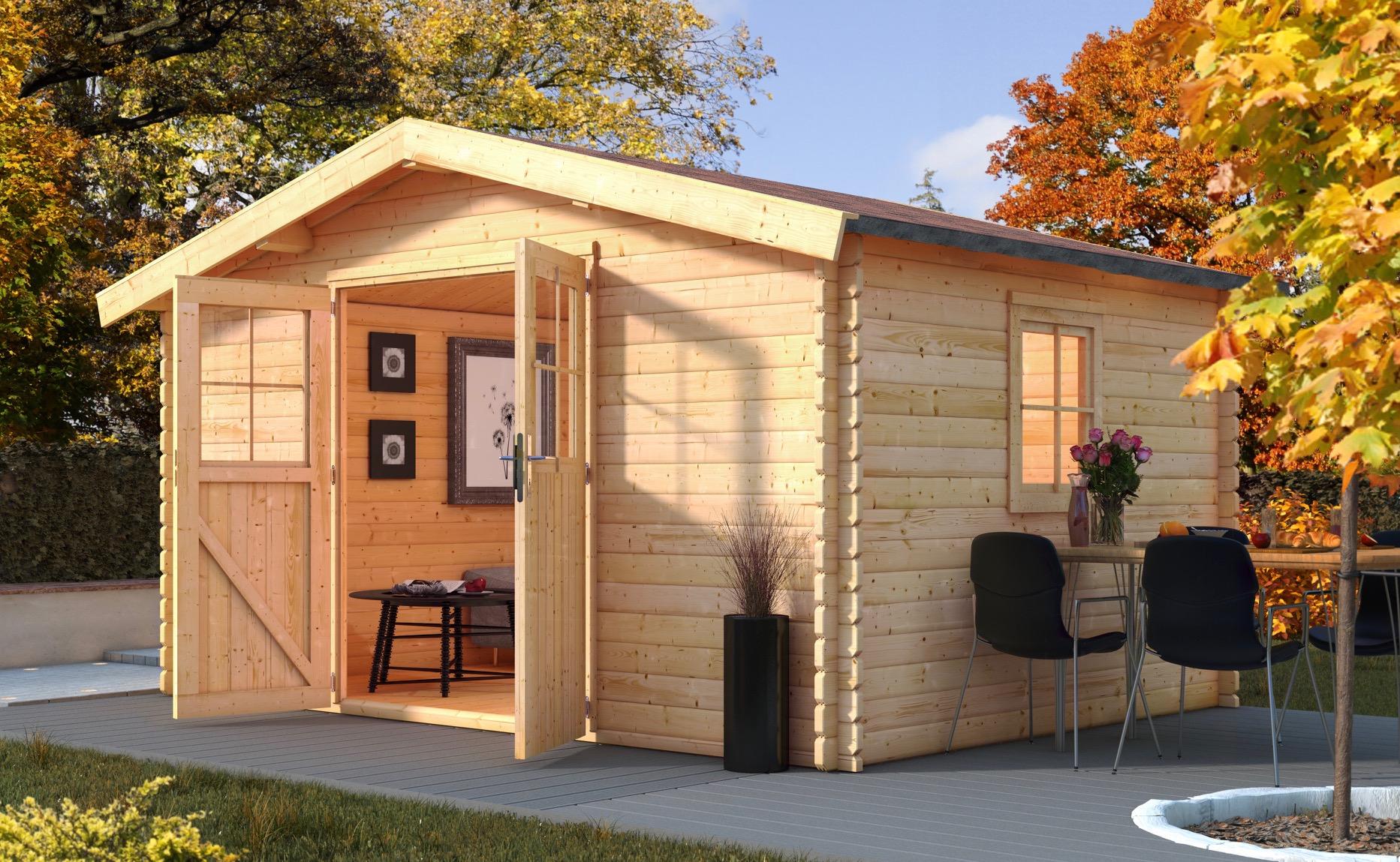 karibu gartenhaus m hlheim online g nstig kaufen. Black Bedroom Furniture Sets. Home Design Ideas