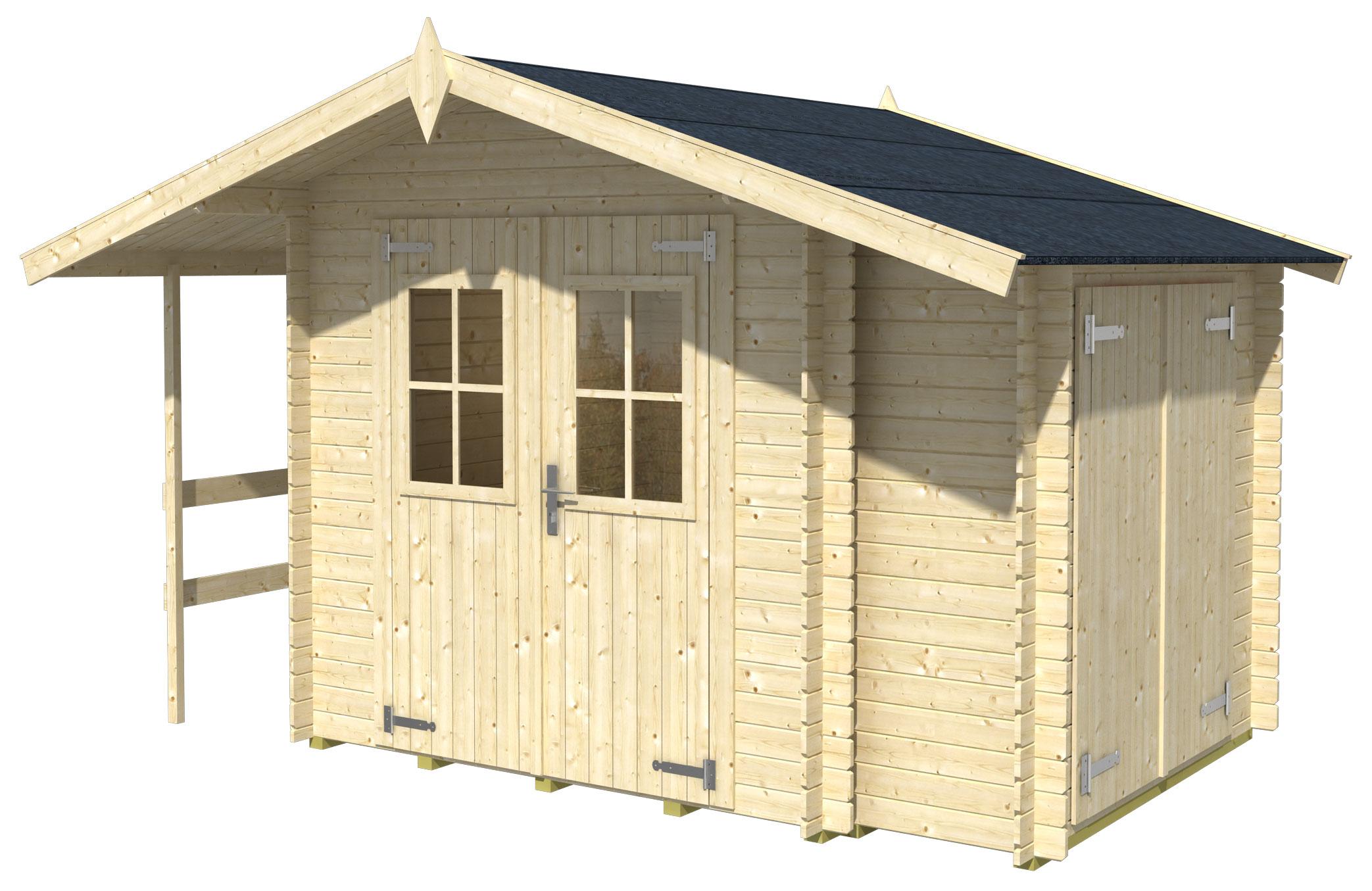 gartenhaus vilano 1 online g nstig kaufen. Black Bedroom Furniture Sets. Home Design Ideas