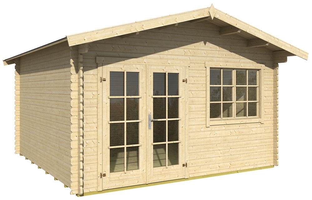 gartenhaus montana online g nstig kaufen. Black Bedroom Furniture Sets. Home Design Ideas