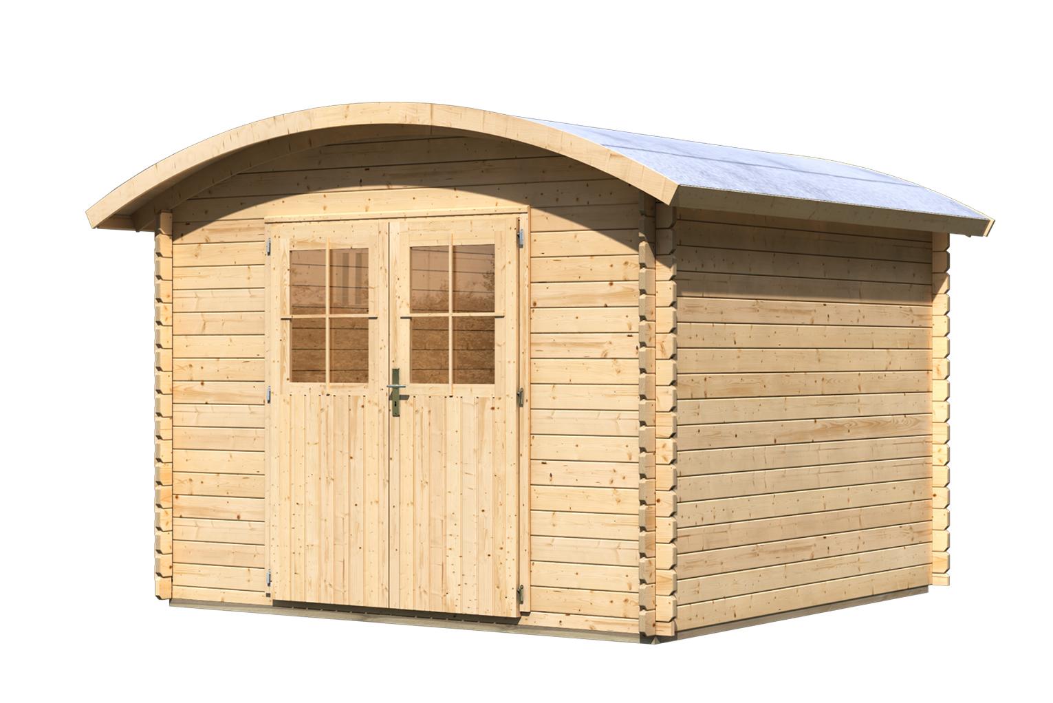 gartenhaus taha 3 online g nstig kaufen. Black Bedroom Furniture Sets. Home Design Ideas