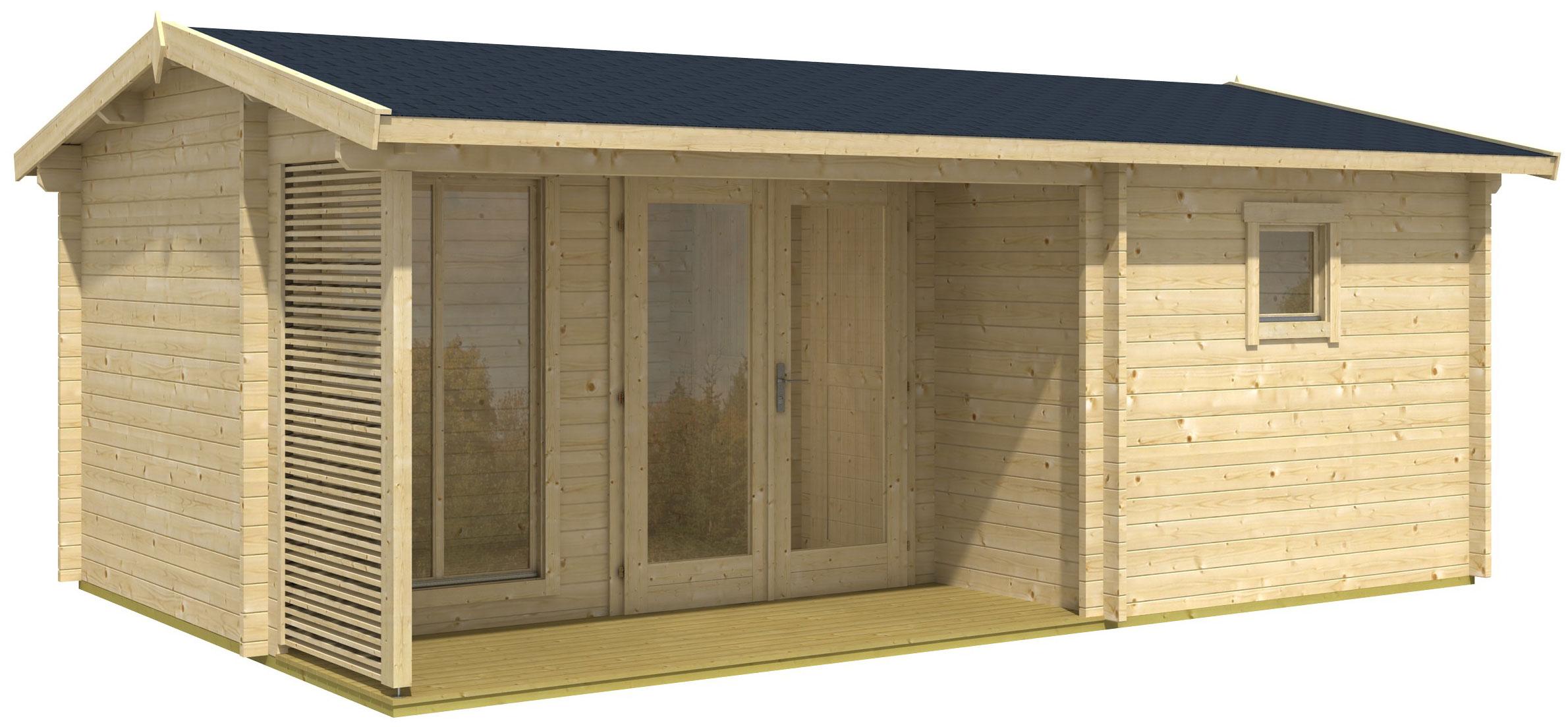 gartenhaus dundee online g nstig kaufen. Black Bedroom Furniture Sets. Home Design Ideas
